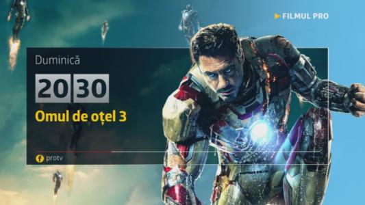 Iron Man 3, duminica, 19 februarie, numai la Pro TV