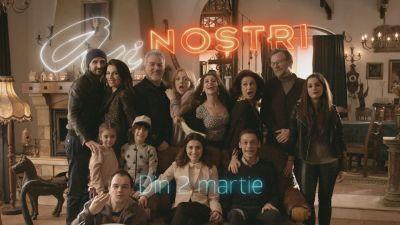 "Pro TV ii prezinta pe Ai nostri! Pe 2 martie debuteaza ""Ai nostri"", un nou serial romanesc marca Pro TV!"