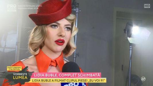 Lidia Buble, complet schimbata
