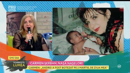Carmen Serban, nasa naselor