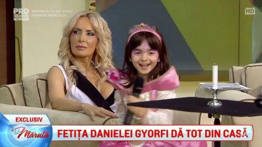 Surprize magice pentru fetita Danielei Gyorfi