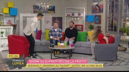 Noul sezon Romanii au talent incepe la Pro TV! Detalii picante de la Smiley si Bartos!