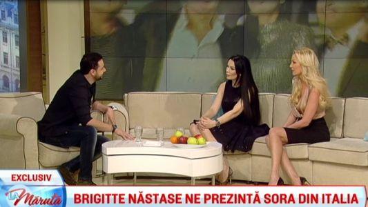 Brigitte Nastase ne prezinta sora din Italia