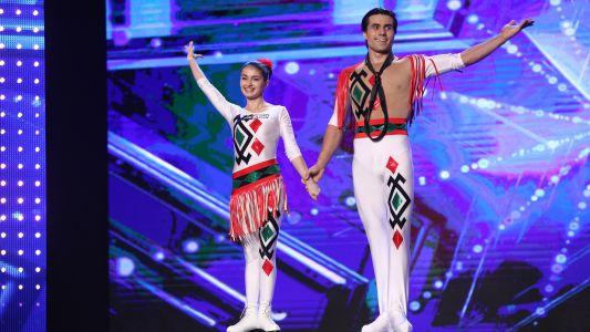Romanii au talent 2017: Cristina Similitan si Andrei Plugaru - Roller Skating