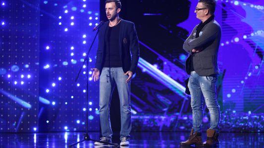 Romanii au talent 2017: Luca Rubino si Florin Budnaru - Interpreteaza melodia Il mare calmo della sera