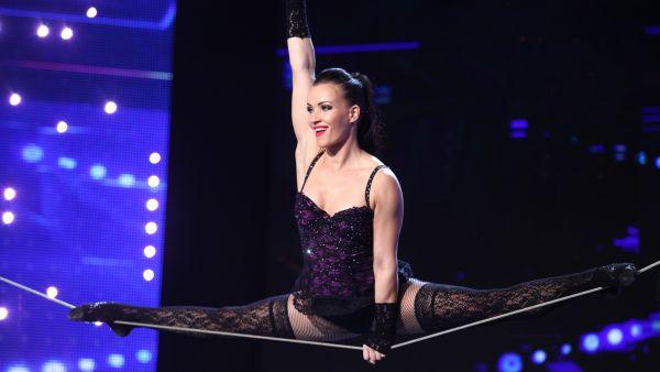 Romanii au talent 2017: Tatiana Kundik - Acrobatii pe sfoara