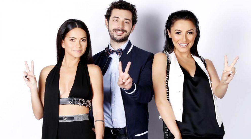 Marius Moga si INNA isi fac complimente in prima editie Vocea Romaniei Junior!
