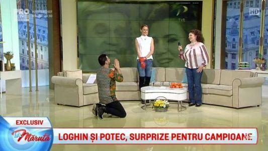 Loghin si Potec, surprize pentru campioane