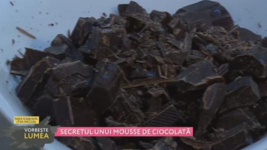 Secretul unui mousse de ciocolata!