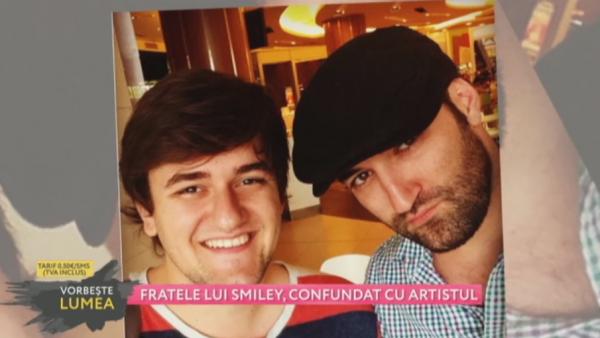Fratele lui Smiley, confundat cu artistul