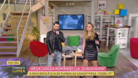 """De la """"Vocea Romaniei"""", la Eurovision"""