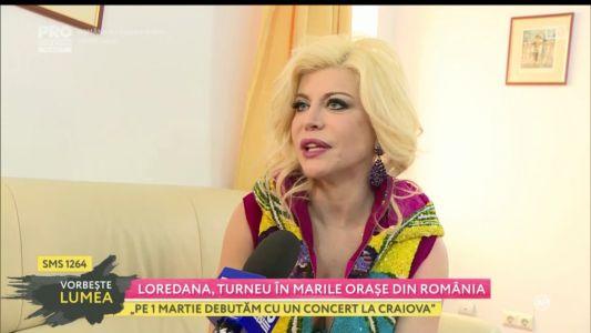 Loredana, turneu in marile orase din Romania