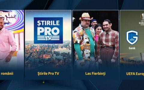 Joi seara, romanii au ales Pro TV!