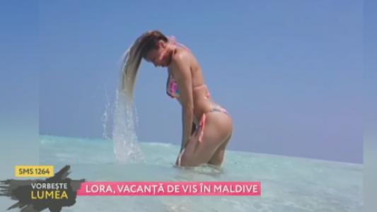 Lora, vacanta de vis in Maldive