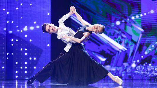 Romanii au talent 2017: Tudor Ionescu si Alyssa Pistor - Dans sportiv