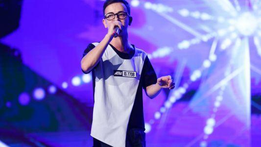Romanii au talent 2017: Marius Mihaila - Interpreteaza o creatie proprie