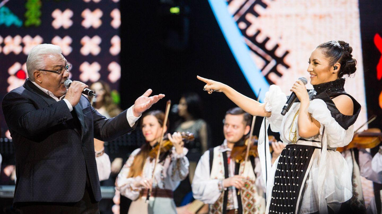 """Andra a sustinut al doilea concert """"Iubirea Schimba Tot"""". Jumatate din familia ei a urcat pe scena!"""