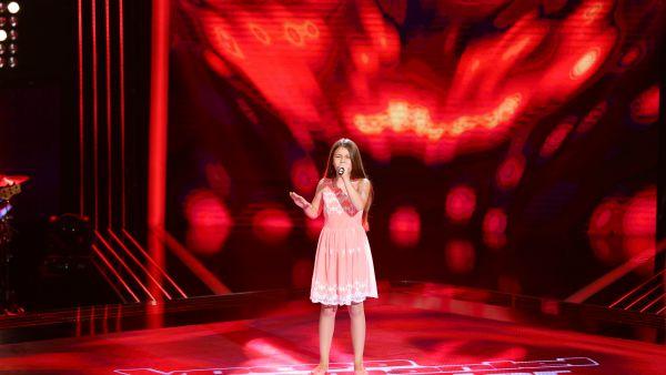 Vocea Romaniei Junior - sezonul 1: Daria Rotaru - Alyosha - Sweet People