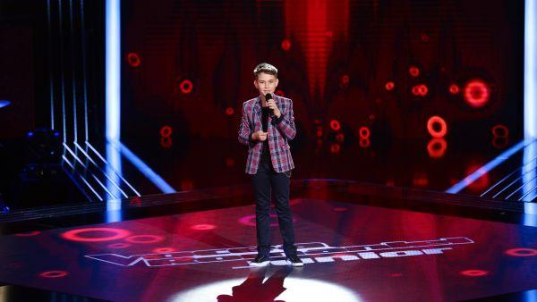 Vocea Romaniei Junior - sezonul 1: Stefan Badea - Belle, Notre Dame de Paris