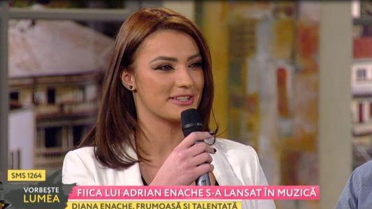 Fiica lui Adrian Enache s-a lansat in muzica
