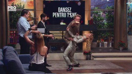 Dansul ploii nu e usor de executat. Miscarile care i-au pus in dificultate pe toti