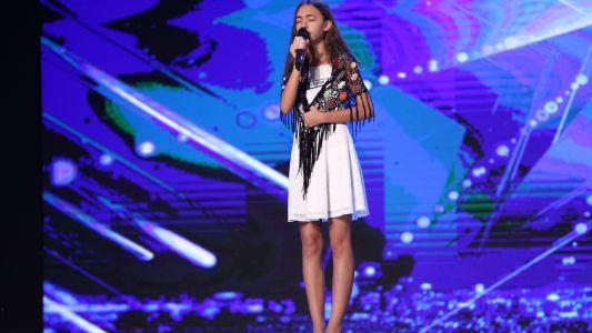 "Romanii au talent 2017: Vitoria Leuca - Interpreteaza piesa ""Meu amor"""