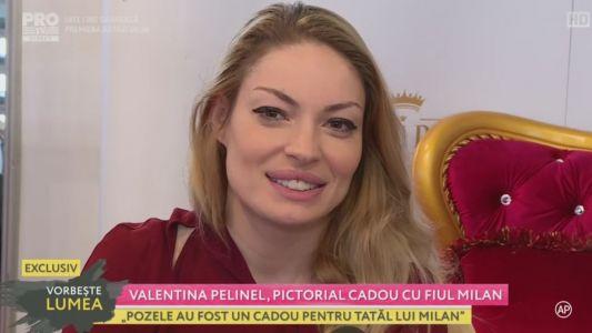 Valentina Pelinel, primul pictorial alaturi de fiul sau