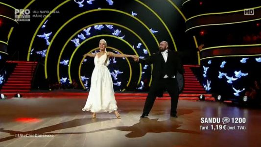 Uite cine danseaza 2017: Sandu Lungu si Raluca Netca - Vals vienez