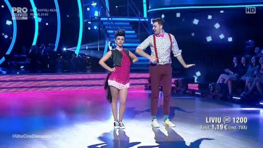 Uite cine danseaza 2017: Liviu Teodorescu si Marica Derdene - Jive