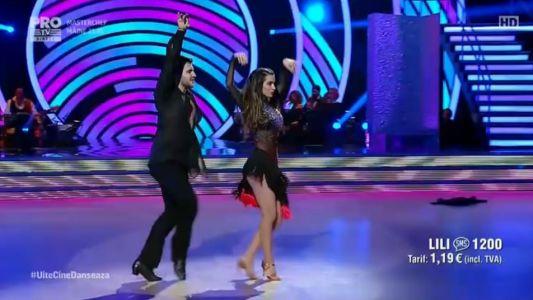Uite cine danseaza 2017: Lili Sandu si Iulian Turcanu - Cha Cha