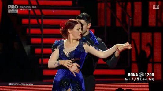 Uite cine danseaza 2017: Rona Hartner si Andrei Mangra - Tango argentinian