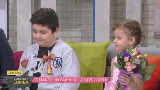 8 martie in familia lui Liviu Guta