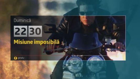 Misiune Imposibila 2, duminica, 12 martie, la ProTV