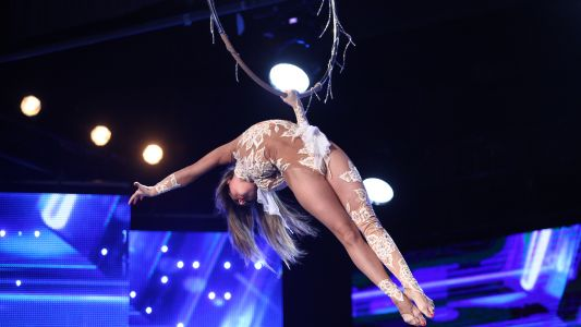 Romanii au talent 2017: Diana Boiachin - Aerial Ring