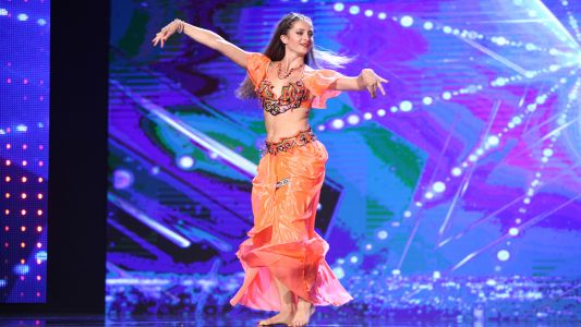Romanii au talent 2017: Marina Lelenco - Dans Oriental