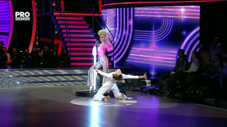 Marius Manole si Olesea Nespeac, prima nota de 10 in show-ul Uite cine danseaza!