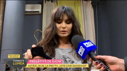 Dana Budeanu, pregatita de show