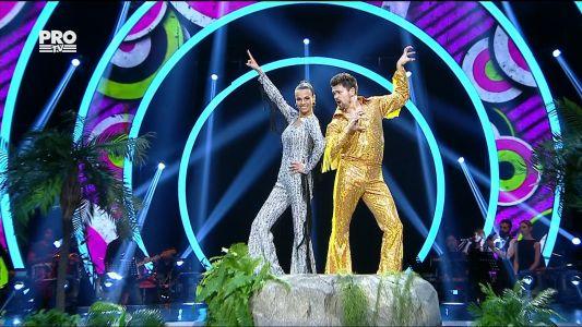 Uite cine danseaza 2017: Anca Sina Serea si Nicolai Curnic - Disco