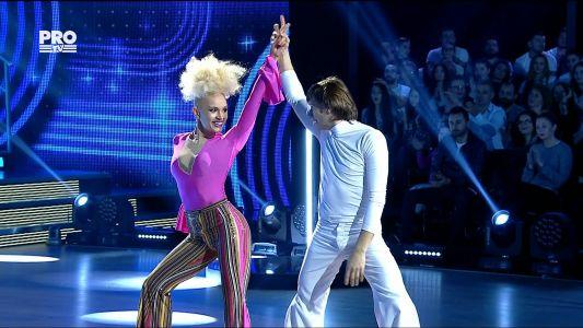Uite cine danseaza 2017: Marius Manole si Olesea Nespeac - Disco