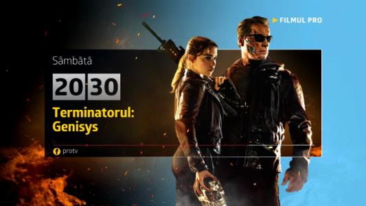 Terminatorul: Genisys, sambata, 18 martie, de la 20:30, la ProTV