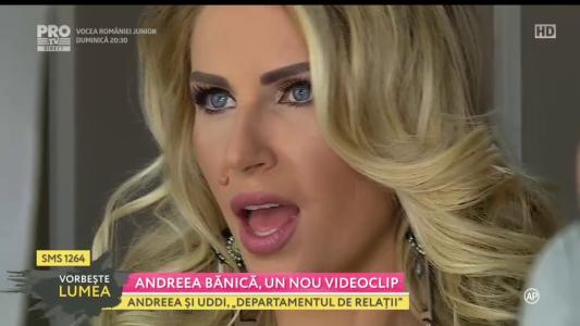 Andreea Banica, un nou videoclip