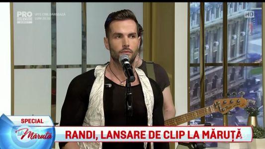 "Premiera: Randi lanseaza videoclipul piesei ""Puteri asupra mea"""