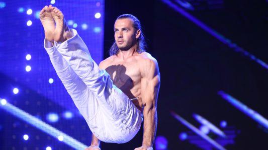 Romanii au talent 2017: Daniel Visan - moment de hand balance
