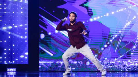 Romanii au talent 2017: Mohamed Irksousi - moment de street dance