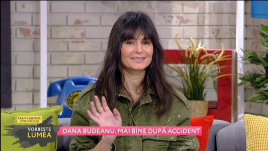 Dana Budeanu, mai bine dupa accidentare