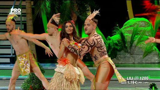 Uite cine danseaza 2017: Lili Sandu si Iulian Turcanu -  Dans Hawaii si Paso doble