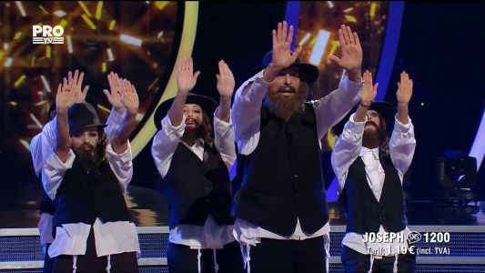 Uite cine danseaza 2017: Joseph Hadad si Georgiana Caita - Dans evreiesc si Paso doble