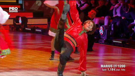 Uite cine danseaza 2017: Marius Manole si Olesea Nespeac - Dans rusesc si Paso doble