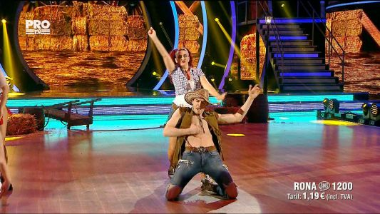 Uite cine danseaza 2017: Rona Hartner si Andrei Mangra - Country si Quickstep