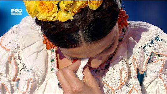 Uite cine danseaza 2017: Anca Sina Serea, o noua accidentare la Uite cine danseaza